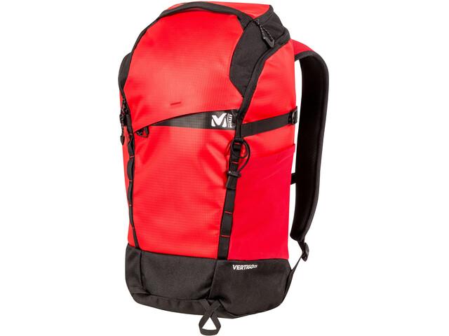 Millet Vertigo 25 Zaino rosso nero su Addnature 1c052ad7e01